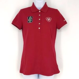Stanford University Equestrian Polo Shirt Small